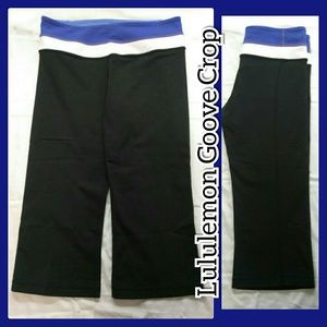 Lululemon Goove Crop capri pants size 6